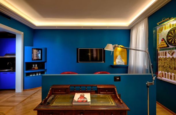 Luxury apartments battibecco  art hotel commercianti bolonia
