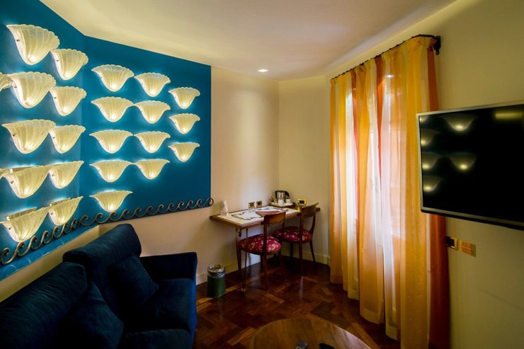 Junior suite  art hotel commercianti bolonia